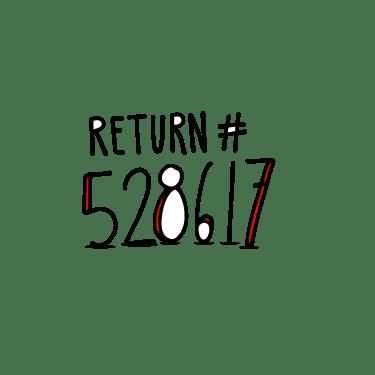 Get a return number