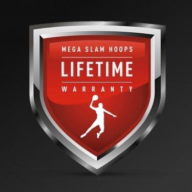 MEGA SLAM HOOPS. Lifetime warranty